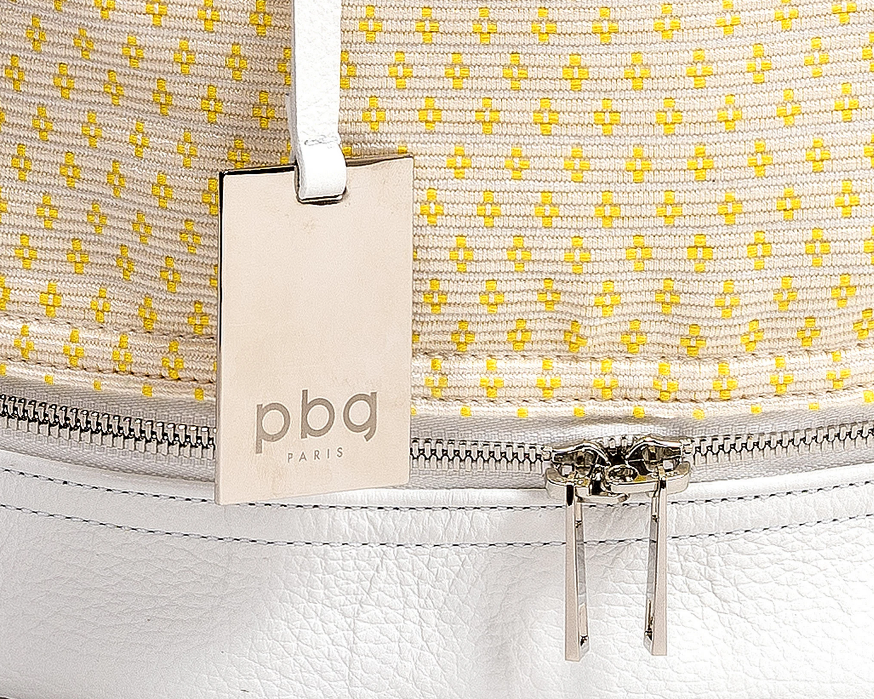 PBG PARIS Bags Of Hope Backpack, White