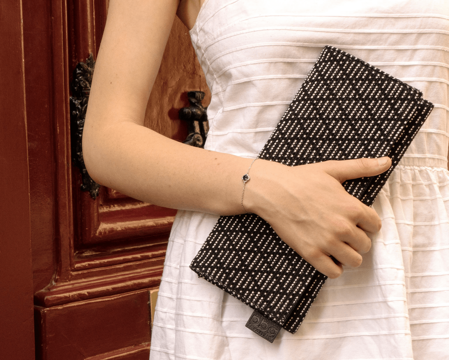 PBG PARIS Rectangular Clutch